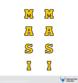 Masi voorvork stickers