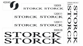 Storck stickers