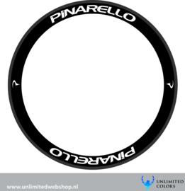 Pinarello nieuw logo velg stickers 2