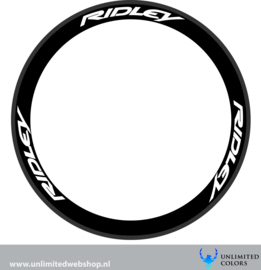 ridley wheel stickers 1, 6 pieces