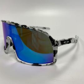Oakley Sutro S - White / Splatter Black