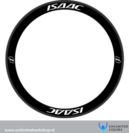 Isaac wheel stickers 2, 8 pieces
