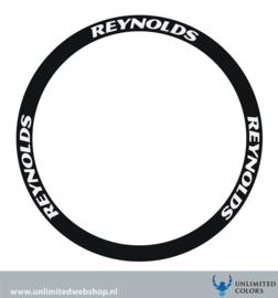 Reynolds  velg stickers, 6 stuks