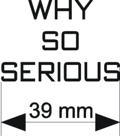 Why So Serious (Sagan)