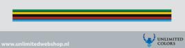 WK vlag strook voor afbiezen