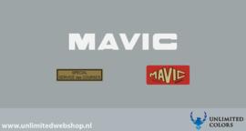 Mavic velg stickers set