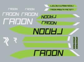 Radon decalset