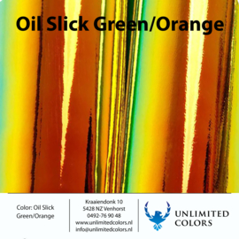 OILSLICK Green/orange
