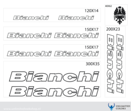 Bianchi stickers outline