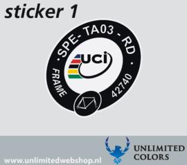 UCI Specialized Tarmac SPE-TA03-RD