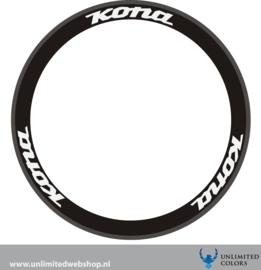 Kona wheel stickers 1, 6 pieces