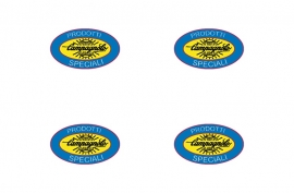 Campagnolo sticker set van 4 60 mm