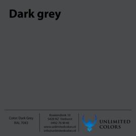 Donker grijs  RAL 7043