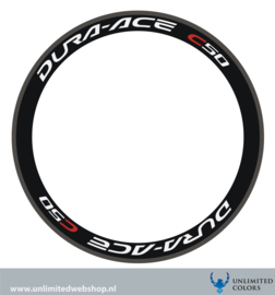 Dura-ace c50 stickers, 4 pieces