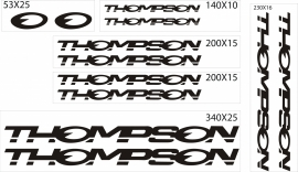 Thompson stickers