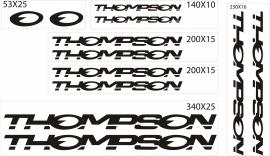 Thompson stickers