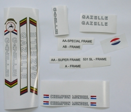 Gazelle Champion Mondial Outline