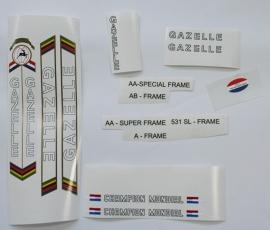 Gazelle Champion Mondial Outline