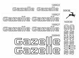 Gazelle outline