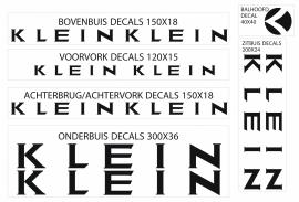 Klein stickers