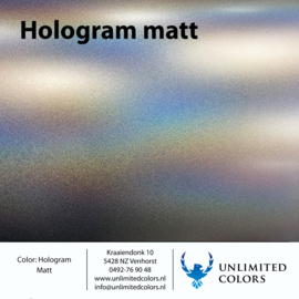 Hologram matt