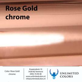 Rosé goud chrome