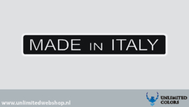 Made in Italy 8