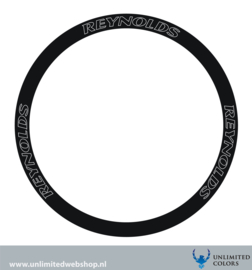 Reynolds wheel stickers outline, 6 pieces