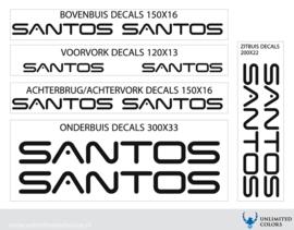 Santos nieuw lettertype