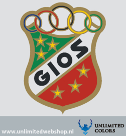 Gios headbadge sticker