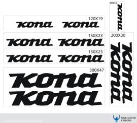 Kona stickers