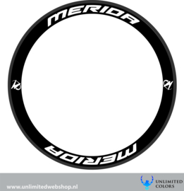 Merida wheel stickers 2, 8 pieces