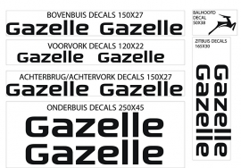 Gazelle stickers