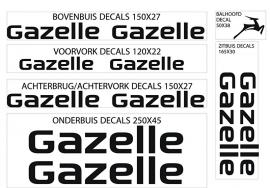 Gazelle stickers