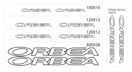 Orbea stickers outline