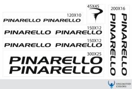 Pinarello stickers, logo tot 2016