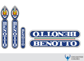 Benotto 2 stickerset