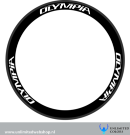 Olympia wheel stickers 1, 6 pieces