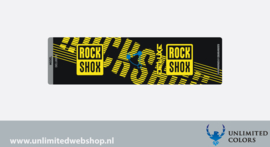 Rockshox Deluxe RT Achterveer sticker
