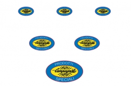 Campagnolo sticker set  32, 60 en 90 mm