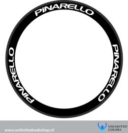 Pinarello nieuw logo velg stickers 1