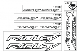 Ridley stickers outline