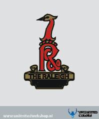 Raleigh headbadge sticker