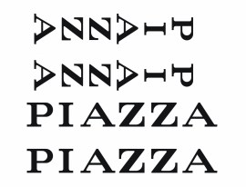 Piazza stickers