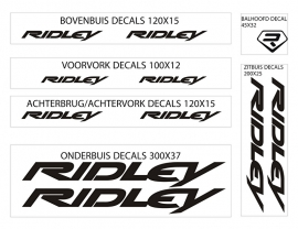 Ridley stickers