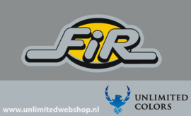 Fir decal, 1 stuk