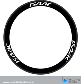 Isaac wheel stickers 1, 6 pieces