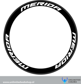 Merida wheel stickers 1, 6 pieces