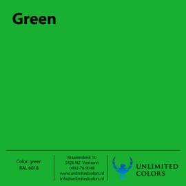Groen RAL 6018