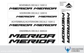 Merida nieuw lettertype